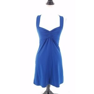 Susana Monaco Blue Racerback Dress